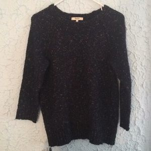 Madewell | Navy Speckled Sweater